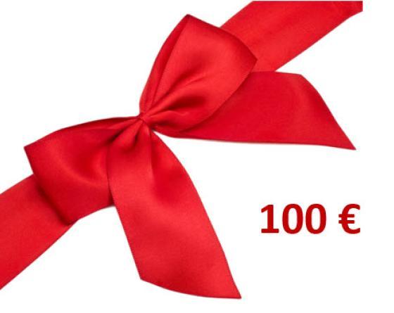 CHEQUE CADEAU 100.00 €