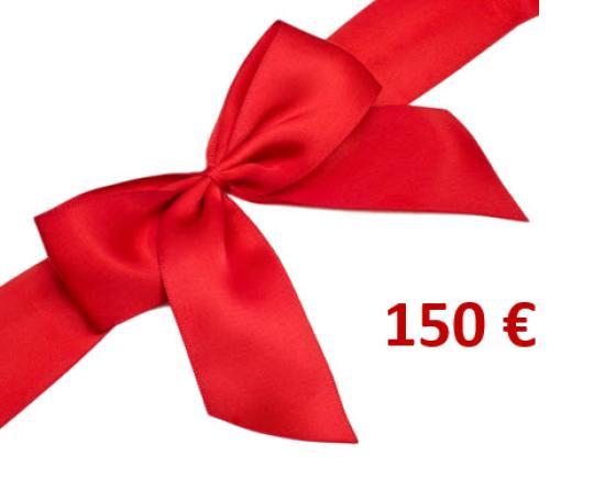 CHEQUE CADEAU 150.00 €